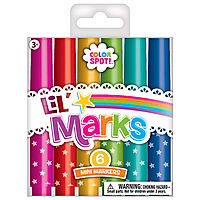 Lil Marks (Set of 6 Mini Markers)