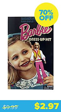Vintage Barbie Colorforms Dress-Up Kit