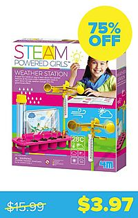 STEAM Powered Girls Weather Station