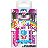 Rainbow Writer 10-Color Pens (Set of 3)