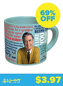 Mister Rogers Sweater-Changing Mug