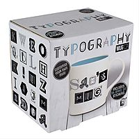 Typography Make-Your-Own Mug