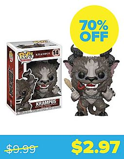 Krampus with Chase Vinyl Figure