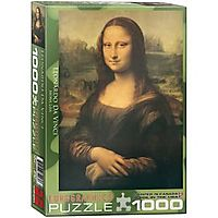 Mona Lisa 1000-Piece Puzzle