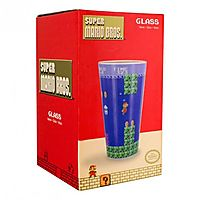 Super Mario Bros 14oz Drinking Glass