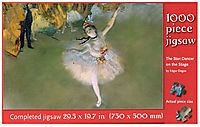 Degas The Star Dancer 1000pc Puzzle