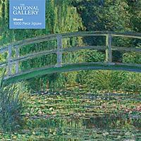 National Gallery: Monet - Bridge Over Lily Pond 1000pc Puzzle