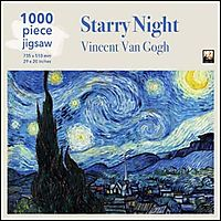 Van Gogh - Starry Night1000pc Puzzle