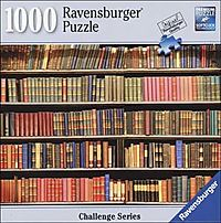 Book Shelf Challenge 1000pc Puzzle