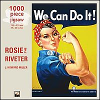 We Can Do It (Rosie the Riveter) 1000pc Puzzle
