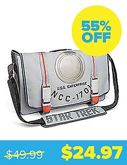 Star Trek U.S.S. Enterprise Messenger Bag