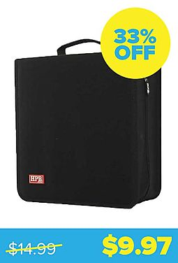 Half Price Books Disc Organizer